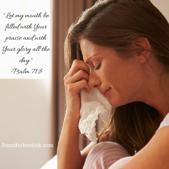 _Let my mouth be filled with Your praise and with Your glory all the day._-Psalm 71_8
